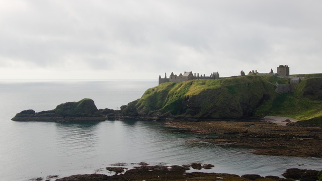 dunnottar hrad