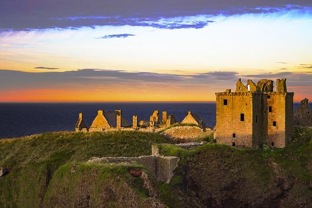 skotský hrad