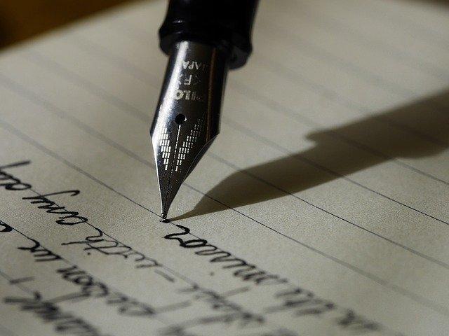 Psaní na papír