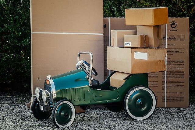 stěhování, balení, krabice, veterán